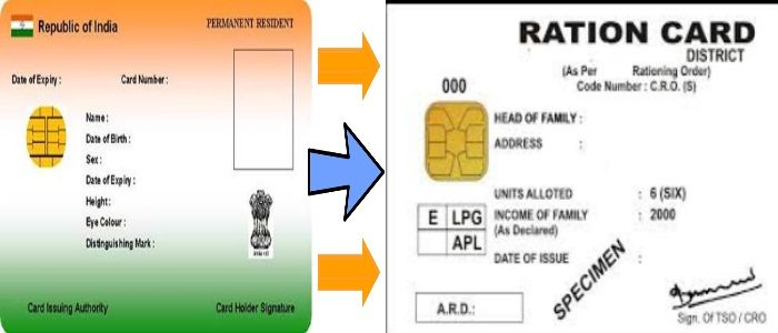 How To Link Your Aadhaar Card With Ration Card
